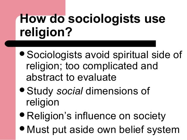 How Religion Affects Society