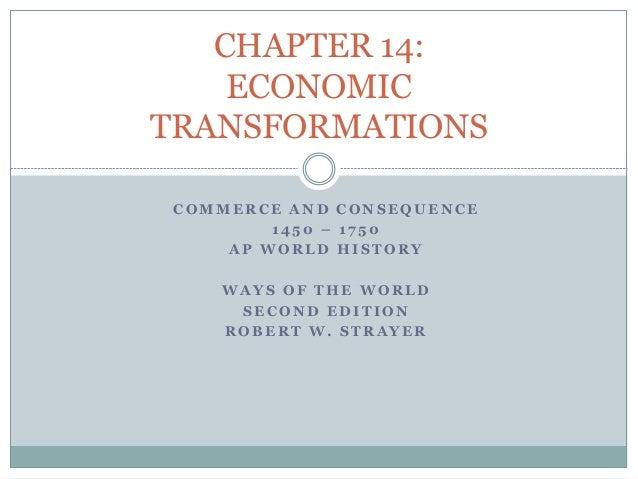 AP WORLD HISTORY - Chapter 14: Economic transformations
