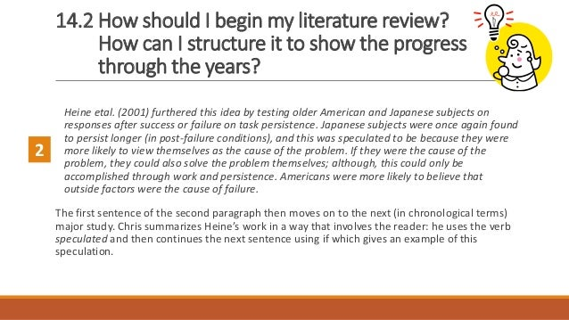 How do i begin research for my literature review