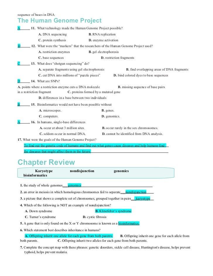 Worksheets Genetic Disorders Worksheet genetic disorders worksheet 10 answers human genetics problems templates and worksheets