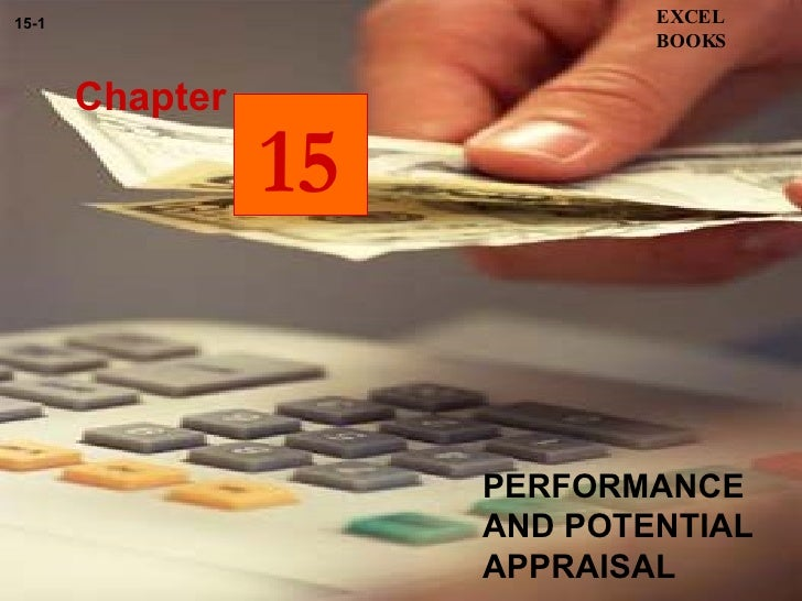 PERFORMANCE AND POTENTIAL APPRAISAL Chapter EXCEL BOOKS 15-1 15
