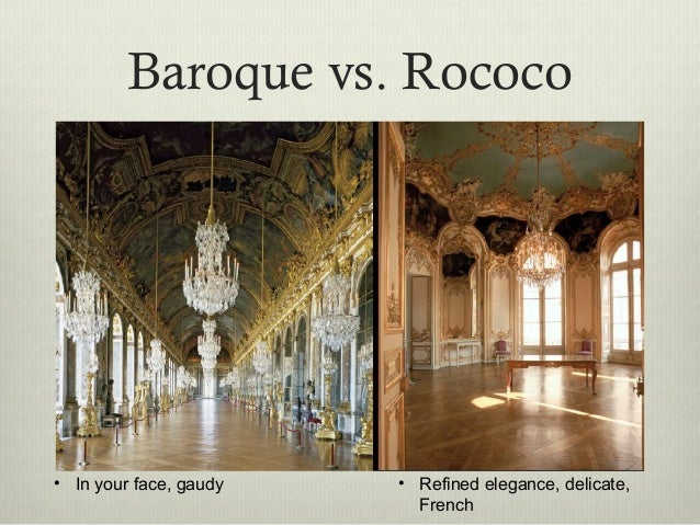 baroque rococo and neoclassicism comparison and Neoclassical architecture is an architectural style produced by the neoclassical movement that began in the mid-18th century in its purest form, it is a style principally derived from the architecture of classical antiquity , the vitruvian principles, and the work of the italian architect andrea palladio.