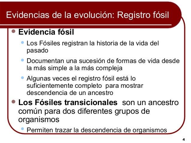 Evolución Biológica: Darwin