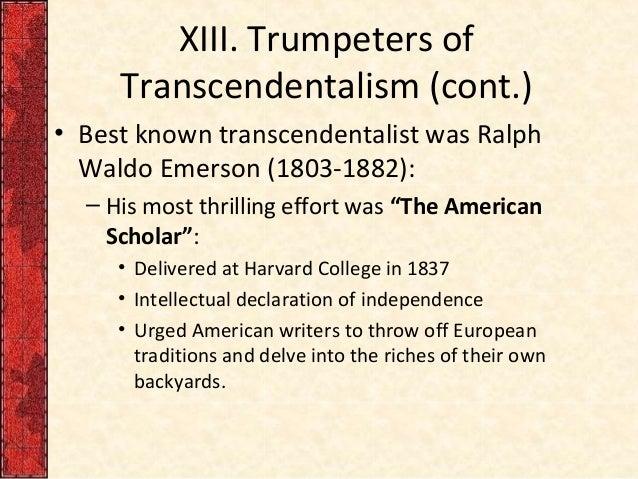 15 Facts about Ralph Waldo Emerson