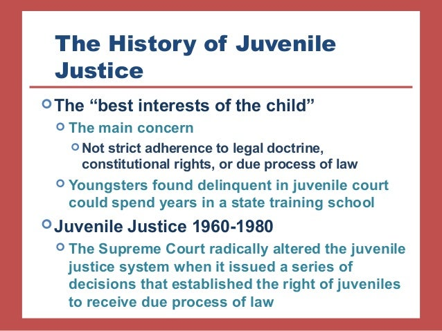 Implications of Abolishing Juvenile Court