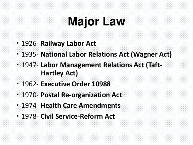 """chapter 10 employment relations copy """"trade union"""" means an organization of employees formed for purposes that include the regulation of relations between employees and employers and includes a (16) a determination made by the board under this section does not limit the board's ability to consider or determine matters under section 7, 8, 81, 9 or 10."""