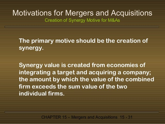 Forget what you've read: Most mergers create value