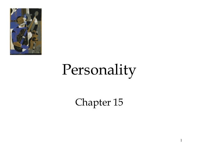 1PersonalityChapter 15