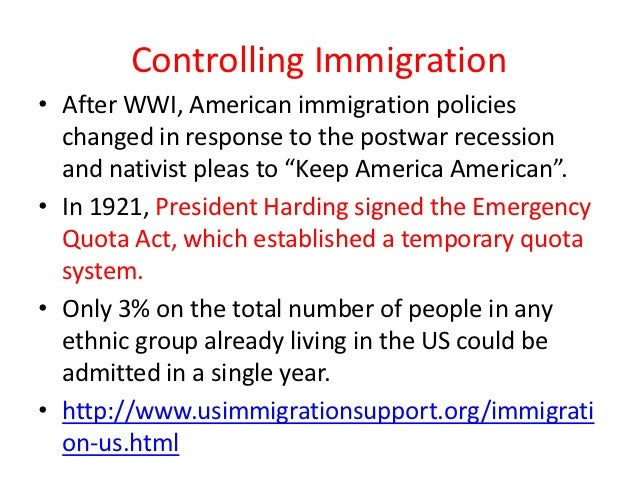quota system immigration - photo #40