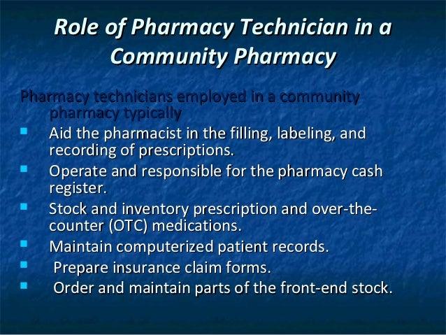 Chapter 15 community pharmacy