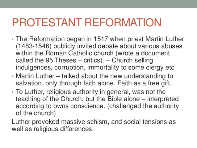 reformation church essay The reformation at 500: an anglican-episcopal perspective remembering the reformation: 500 years with guest essays from five was ordained in the church of.