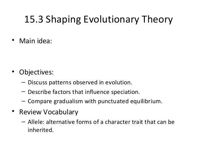 evolution biology study guide
