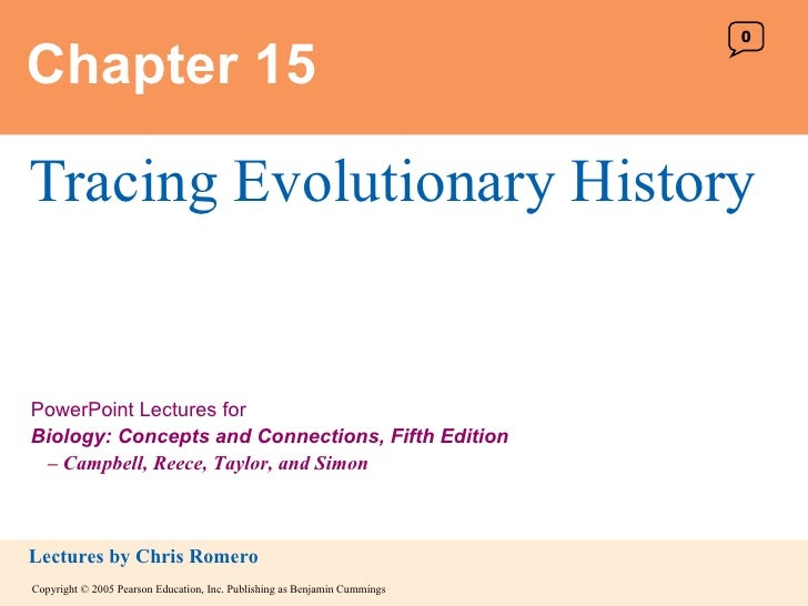 Chapter 15 Tracing Evolutionary History 0