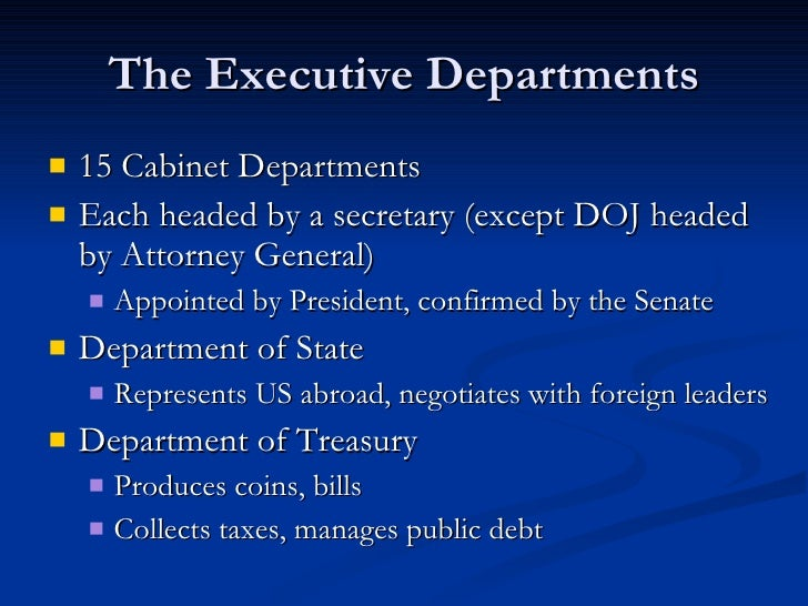 15 cabinet departments chapter 15 section 3 the executive departments 10034