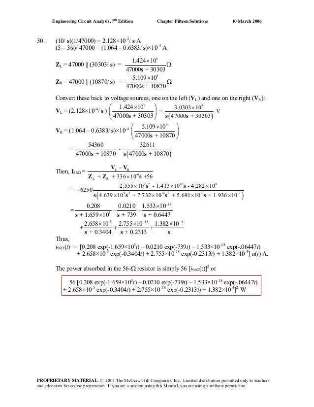 Chapter 15 solutions_to_exercises(engineering circuit
