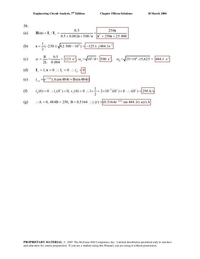 Basic Engineering Circuit Analysis 10th Edition Solutions Pdf