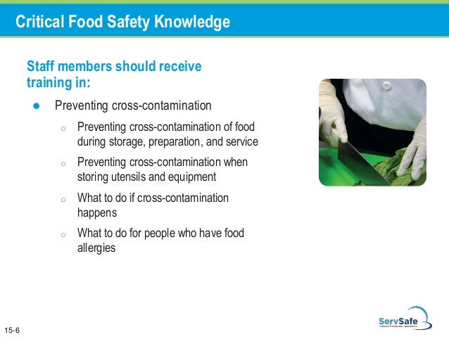Chapter 15 Staff Food Safety Training