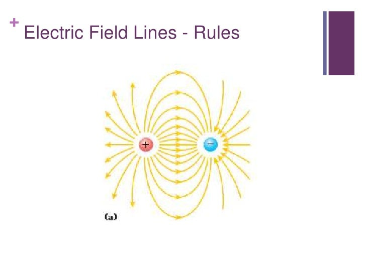 +    Electric Field Lines - Rules