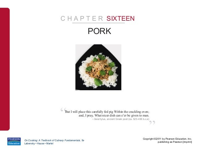 "C H A P T E R SIXTEEN                                                      PORK                              ""   But I wil..."