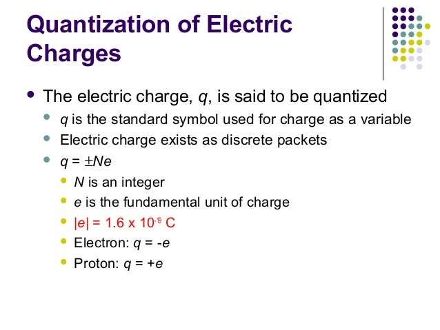 Chapter16 : Electric Force and Field