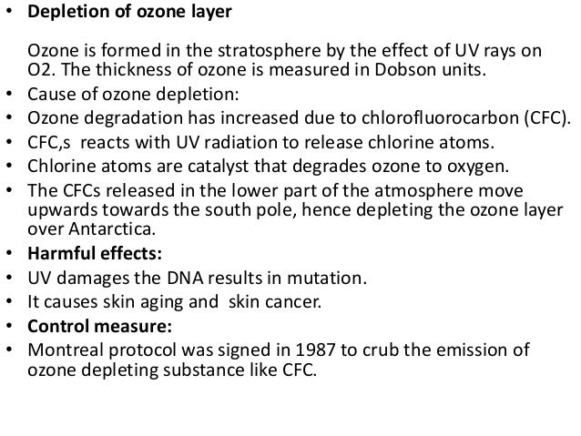 chlorofluorocarbons cfcs impact in the depletion of the ozone layer and its origins The earth's stratospheric ozone layer plays a critical role in absorbing ultraviolet radiation emitted by the sun in the last thirty years, it has been discovered that stratospheric ozone is.