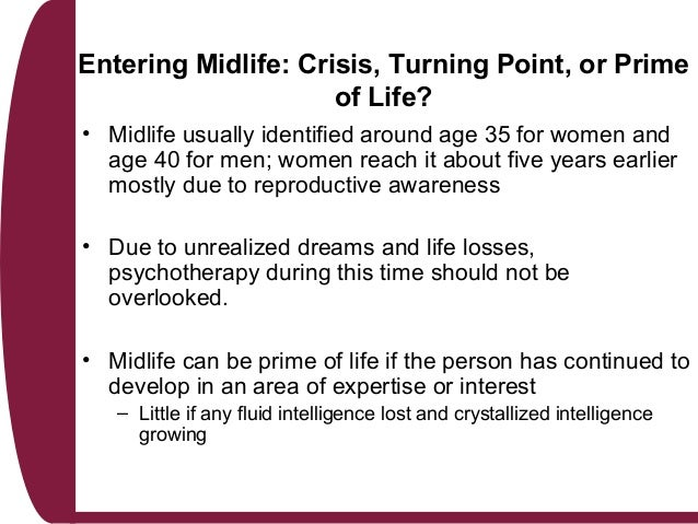 how to avoid midlife crisis