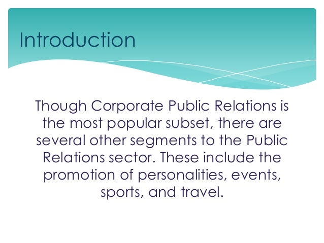 public relations in sports essay Sports public relations pros and media control it's difficult, if not impossible, to control the media, but there are things professional pr people can do to get their message out before the media moves in.