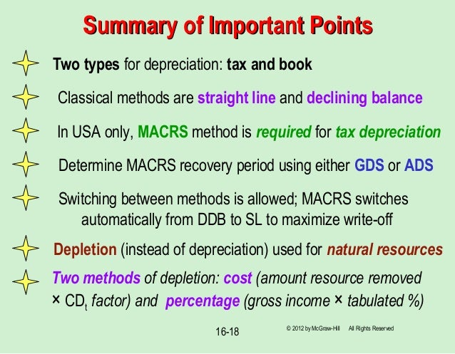 how to choose depreciation methods