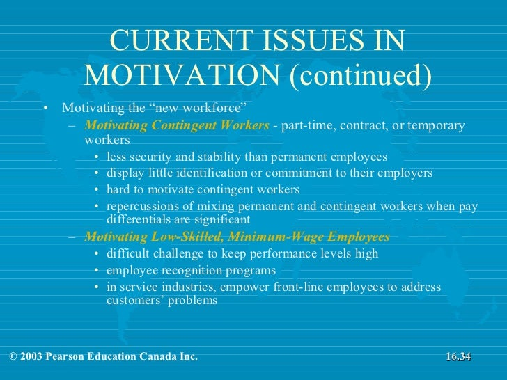 motivating part time employees But, the middle part of the process – managing existing employees – is usually  more time consuming and just as important here are some ideas that may help.
