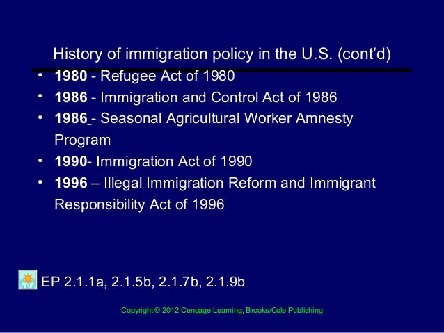 Immigration Reform and Control Act of 1986