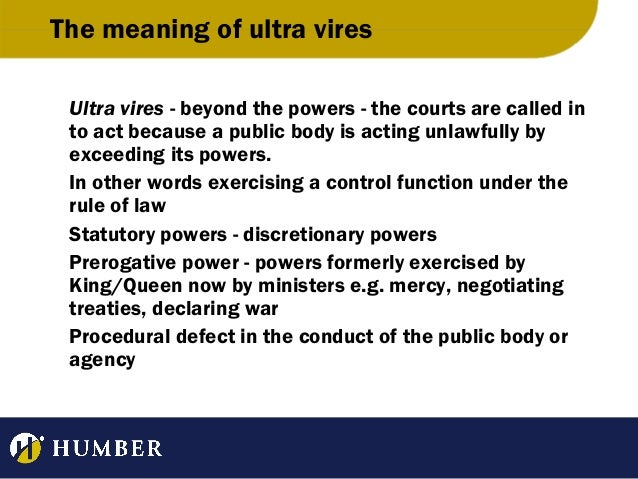 the meaning of ultra