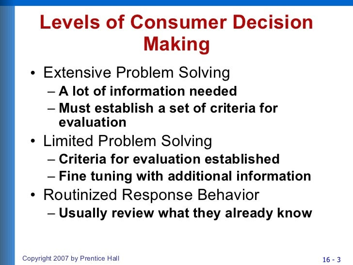 marketing decision analysis Make sure you are aware of these 9 key stages in the marketing research process impartial analysis present behavior can predict future purchasing decisions.