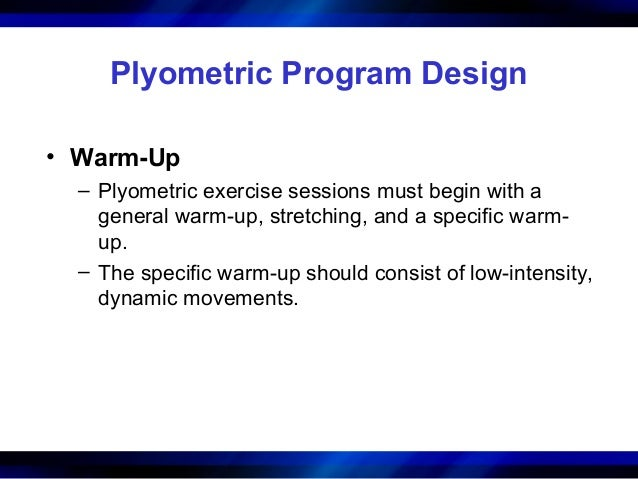 Chapter 16 Plyometrics