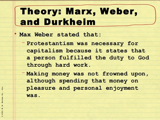 theories of religion emile durkheim and max weber Even when the analyses concern religion, culture, music, and the family, the   karl marx, émile durkheim, and max weber all formulated their theories in.