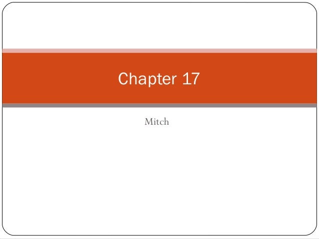 Mitch Chapter 17