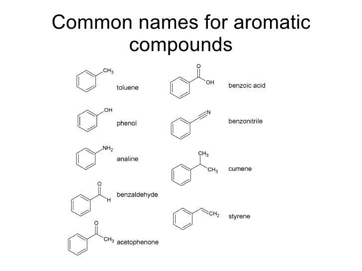 Benzene Aromatic Ring