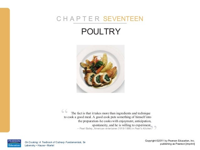 "C H A P T E R SEVENTEEN                                               POULTRY                              ""      The fact..."