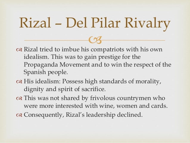 idealism in the writings of rizal We will write a custom essay sample on rizal's life work's and writings specifically for you for only $1638 $139/page order now.