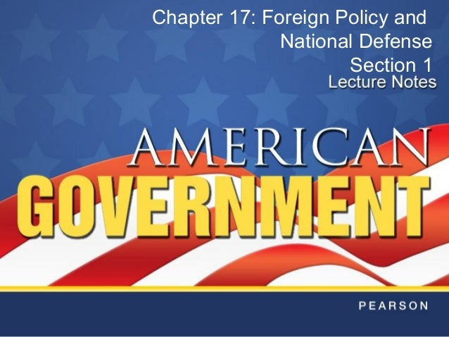 foreign policy and national security quizlet