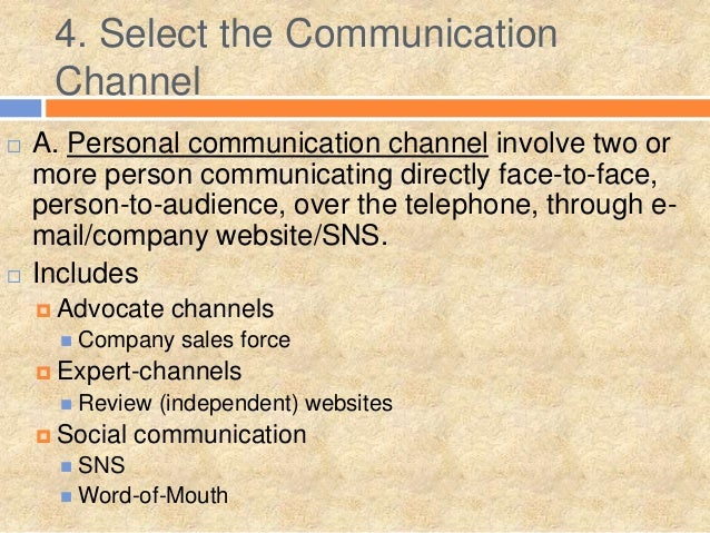 communication channels in mcdonalds More on mcdonald's channel from lee edmondson, chief executive of channelport communications llc.