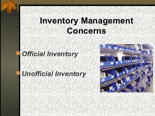 chapter 9 inventory management Inventory control (finished product) asset management general ledger sixth edition chapter 9 9-8 title: chapter 9 author.
