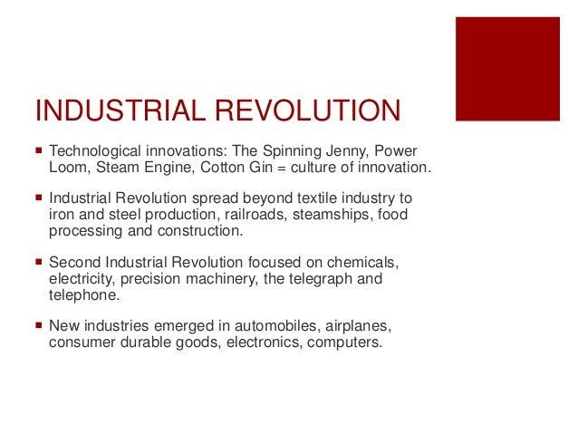 ap world history industrial revolution