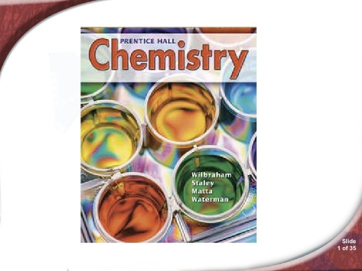 Chemistry 17.3