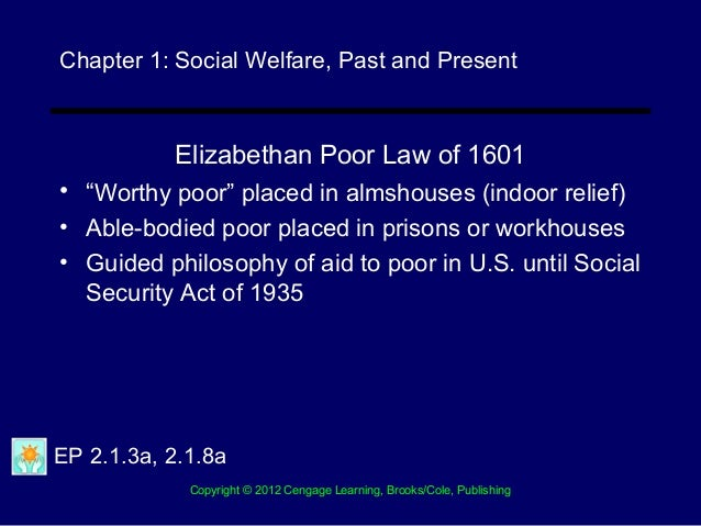 elizabethan poor law of 1601 summary