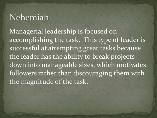 nehemiahs leadership skills Dix-nehemiah strategies for restorative servant leadership in the urban context p 1 nehemiah: strategies for restorative servant leadership in the urban contextnehemiah.