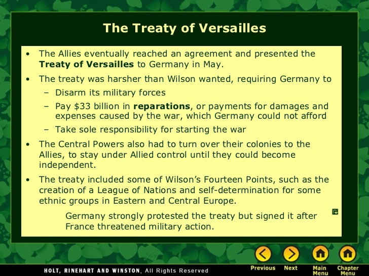 a n overview of the infamous treaty of the versaille What was the  war guilt  clause in the treaty of versailles  the infamous war guilt clause  the public anger towards the treaty helped put.