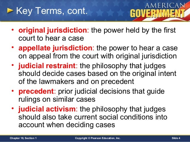 an introduction to the comparison of judicial activism and judicial restraint Introduction right-leaning academics committed to judicial restraint, the   of judicial activism, with the obvious difference that his addition of a seventh.