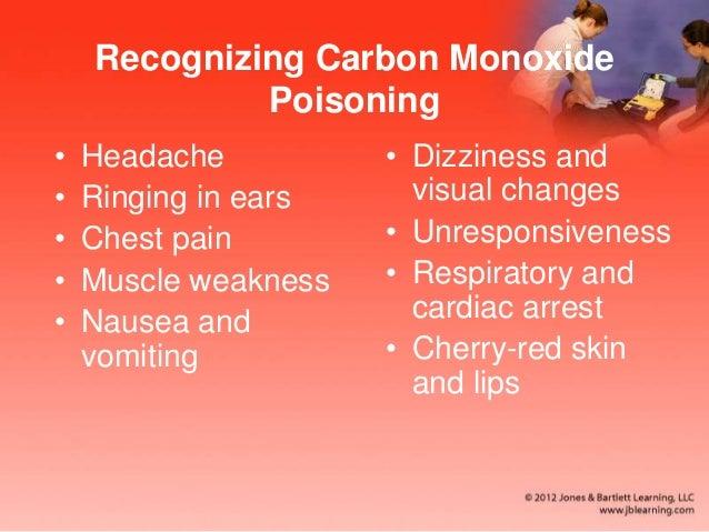 Carbon Monoxide Ringing Ears