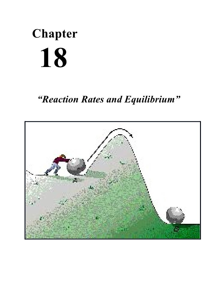 "Chapter 18""Reaction Rates and Equilibrium"""