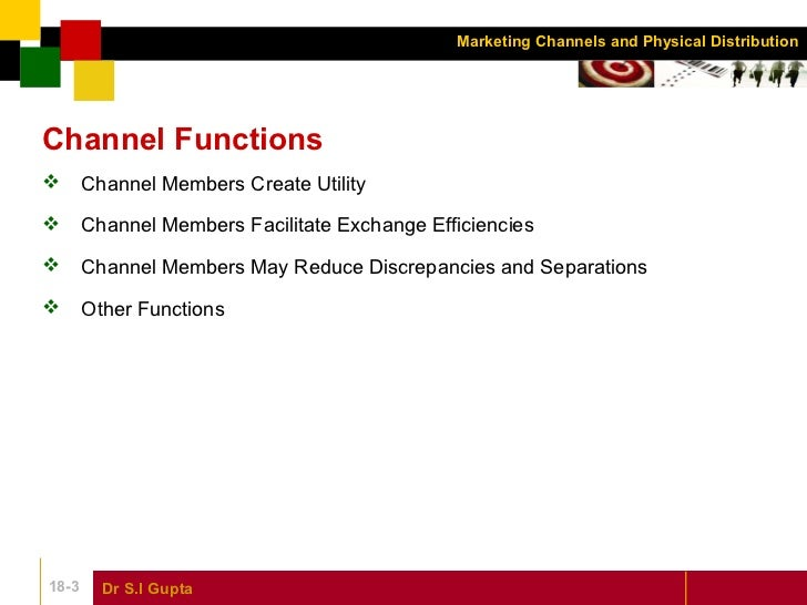 Chapter 18 marketing channels and physical distribution marketing management Slide 3